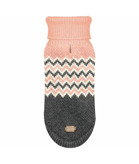 Milk & Pepper Hundepullover – Meribel Zig Zag Sweater