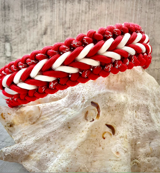 Paracord Hundehalsband *New Generation Red*